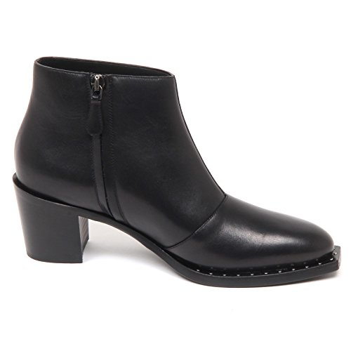 Boot Tronchetto Gozzi E7680 Alberto Woman Shoe Nero Scarpe Donna Black nqYEdfdv
