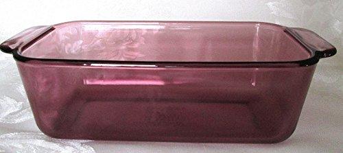 Pyrex Cranberry Loaf Pan 1.5 Qt #213-R