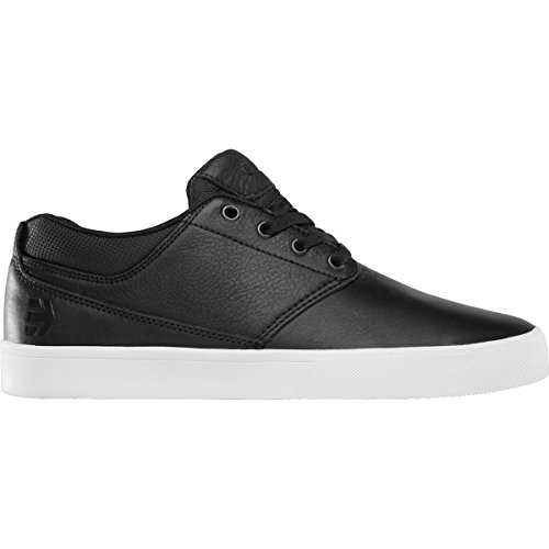 Etnies Men's Jameson Mt Skateboarding Shoe, Black/Silver, 10 M US