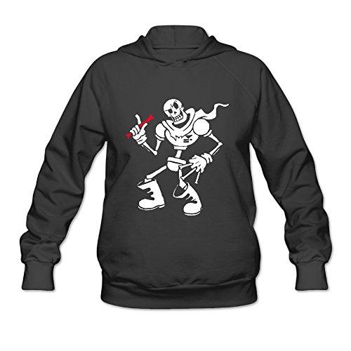 DVPHQ Women's Under Sans And Papyrus Tale Sweater Size XL Black