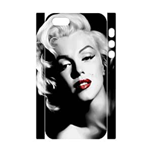 Marilyn Monroe DIY 3D Cover Case for Iphone 5,5S,personalized phone case ygtg-345594