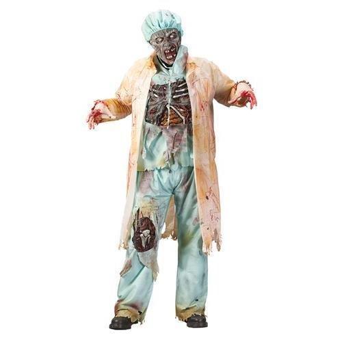 Zombie Doctor Adult Costume -