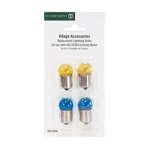 Department 56 Accessories for Villages Replacement Lighting Bulb