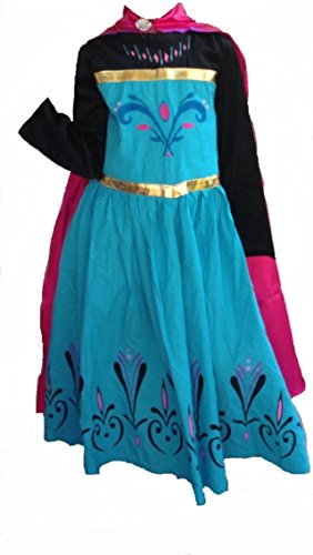 Elsa Coronation Dress, 5-6 (Kids Elsa Coronation Dress)