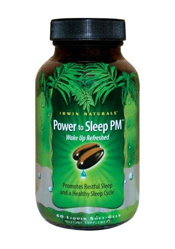 Irwin Naturals Pouvoir de sommeil PM Soft-Gels, 60-Count Bottle