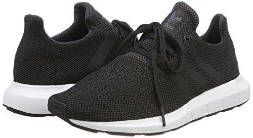 Pour Chin carbon Noir Swift Chin Homme De Moyen Core S18 Chaussures Course Adidas Run Gris Carbon XAq8Zx