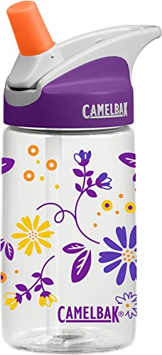 CamelBak Eddy Kids Water Bottle, Daisy Chain, .4 L