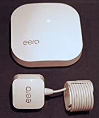 """ero routers provide an easy to install ,high performance """"mesh"""" network for home and small office use. Unlike conventional """"access points"""" and other methods of extending WiFi coverage and eliminating dead-spots, the Eero mesh net allows conne..."""
