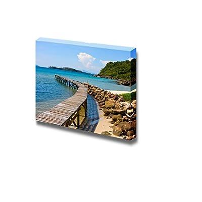 Beautiful Scenery Landscape Tropical Beach in Island KOH Kood Thailand - Canvas Art Wall Art - 12