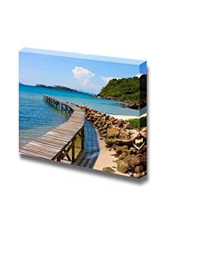 Beautiful Scenery Landscape Tropical Beach in Island Koh Kood Thailand Wall Decor ation