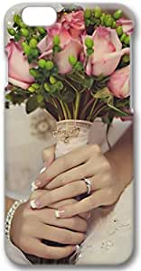 Bride Holding Roses Apple iPhone 6 Case, 3D iPhone 6 Cases Hard Shell Cover Skin Casess
