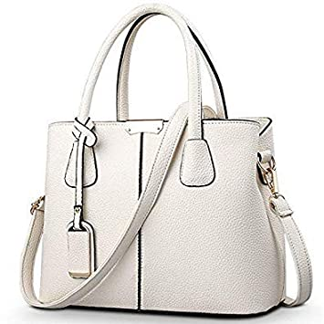 b75224b6e88d Buy SLB Works Hot Sale bolso Mujer New Fashion Big Bag Women Shoulder  Messenger Bag Ladies Handbag Big Bags for Women Color Off White 30cm Online  at Low ...