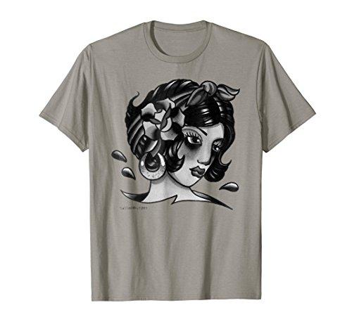 Gypsy Traditional Tattoo Flash T Shirt