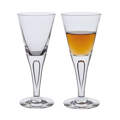 Dartington Sharon Sherry Glass, Clear, Pack of 2 ST115/1/P