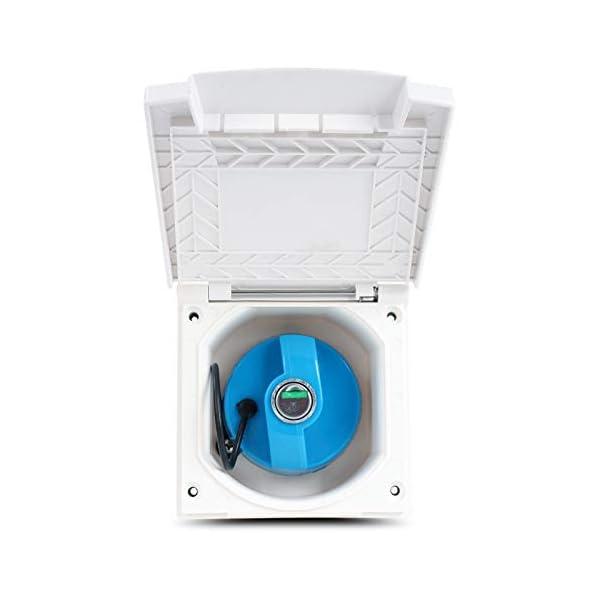 41UodmPW2zL Wasseranschlussdose   abschließbar   weiß   inkl Dichtung & Schrauben   40mm