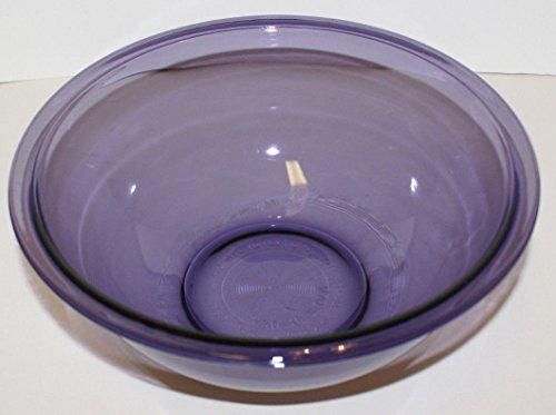 Pyrex 325 Amethyst Purple 2.5 Liter Quart Glass Mixing - Amethyst Glass Bowl