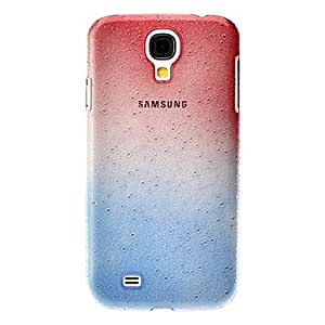 Gradient Small Droplets Hard Case for Samsung Galaxy S4 I9500(Red Shades) 00699150
