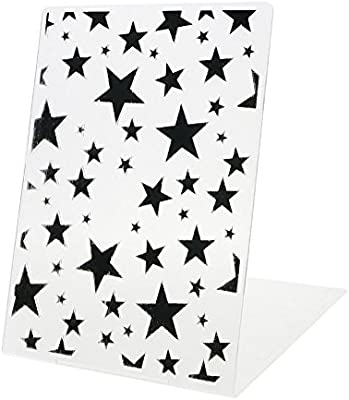 ZHUOTOP Newest Stars Pattern Plastic Embossing Folders for DIY Scrapbooking Paper Craft//Card Making Decoration Supplies Stars#2