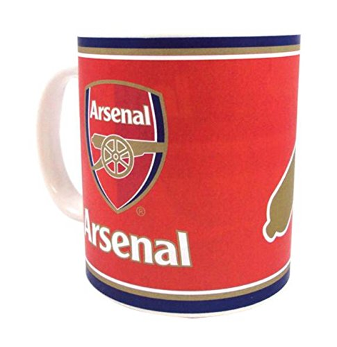 Arsenal Soccer Club Supporter Cup Pack Of 2 by OSG