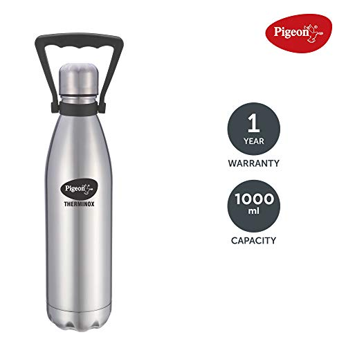 Pigeon-by-Stovekraft-Aqua-Therminox-Stainless-Steel-Vaccum-Insulated-Water-Bottle-with-Copper-Coating-Inside-for-Better-Hot-and-Cold-Retention-1000-ml