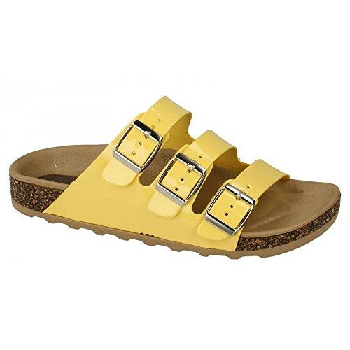 moda de mujer las Spot sandalias negro de en wxIzFqtf