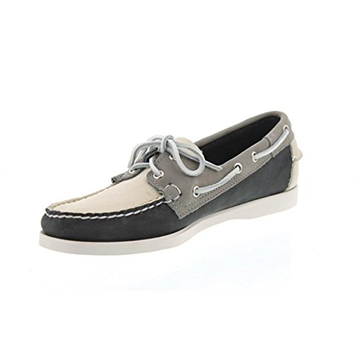 Men Mocassins Black Spinnaker Grey Nubuck Beige Sebago vxwRxS
