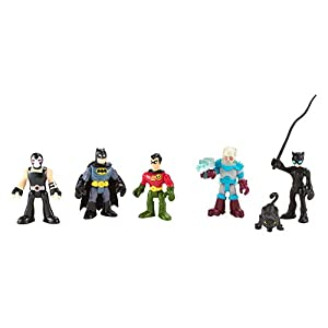 Fisher-Price Imaginext Dc Super Friends Batman Heroes & Villains Pack - 41UofJv9phL - Fisher-Price Imaginext DC Super Friends, Batman Heroes & Villains Pack