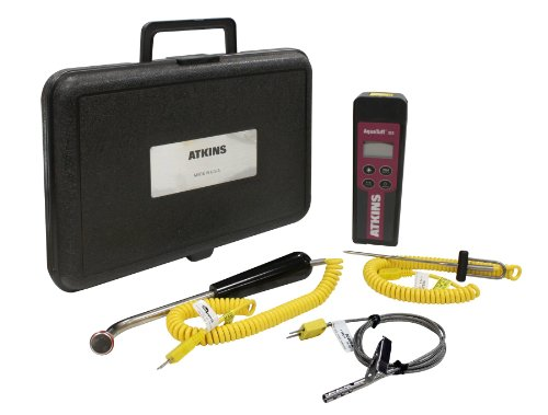 Cooper-Atkins 93970-K AquaTuff Type K Thermocouple Kit with 3 Probes and Hard Case by Cooper