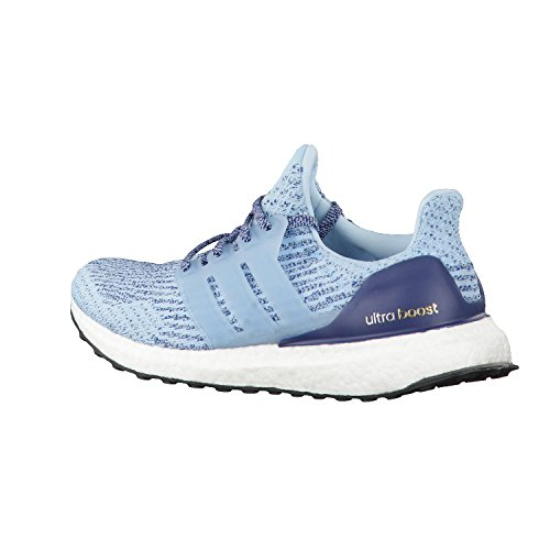 adidas Damen Laufschuhe UltraBOOST icey blue f17/icey blue f17/blue night f17 39 1/3