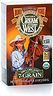 product image for Cream of the West, 100% Organic Hot Cereal, 7-Grain - 18 oz. Single Box
