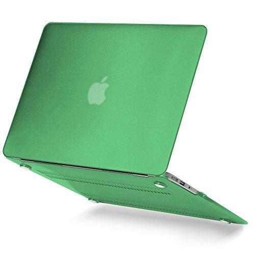 Laptop Sleeve Leaf Green (GMYLE Aqua Green MacBook Air 13 inch case Matte Plastic Scratch Guard Cover for MacBook Air 13 inch (Model: A1369 & A1466))