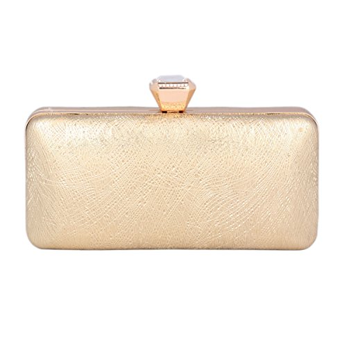 Stylish of Day Scrub Clutch Gold Activity Prom Women's Saturn Bag Uqxdq0n