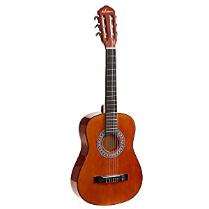 ADM Beginner Classical Guitar 1/2 size 34 Inch Nylon Strings Wooden Guitar, Sunset 41UoiPnuWiL