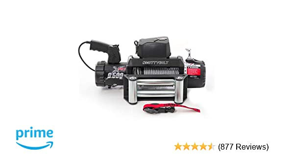 Smittybilt 97495 XRC Winch - 9500 lb  Load Capacity