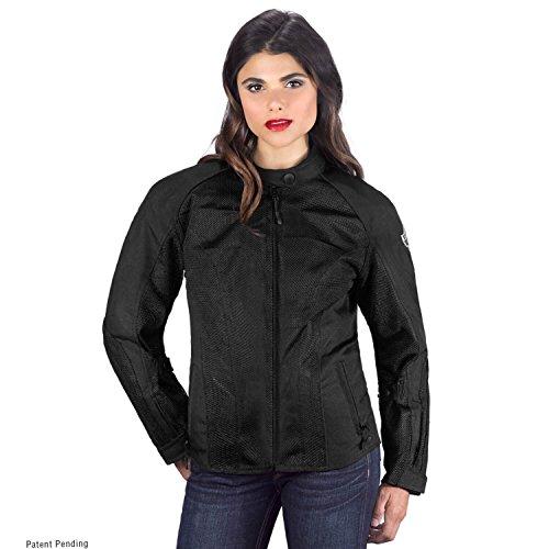 Viking Cycle Warlock Women's Motorcycle Mesh Jacket (Medium) -