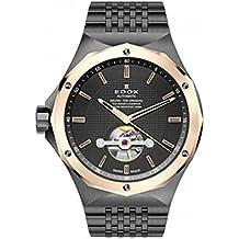 Edox Men's 85024 37GRM GIR Delfin Analog Display Swiss Automatic Grey Watch