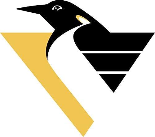 Pittsburgh Penguins Retro Hockey Color Vinyl Sticker