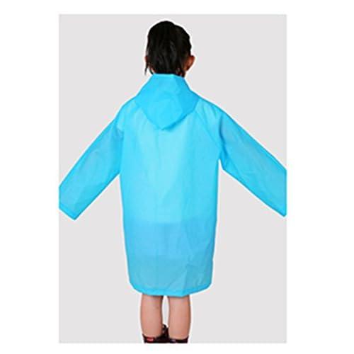7b254d157 Yiluweinir Kids Raincoat With 2 Pockets Girl Boy Waterproof Hood ...