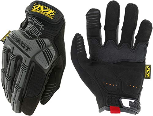 (Mechanix Wear MPT-58-010 M-Pact Black Large Gloves)