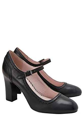Mary Woman in Scarpe nera 1 Jane Next pelle v6q8Pn