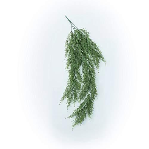 人工観葉植物 サイプレスハンキングブッシュ(12個セット) ba730 (代引き不可) インテリアグリーン 造花 HANGING BUSH B07SW9HRYX