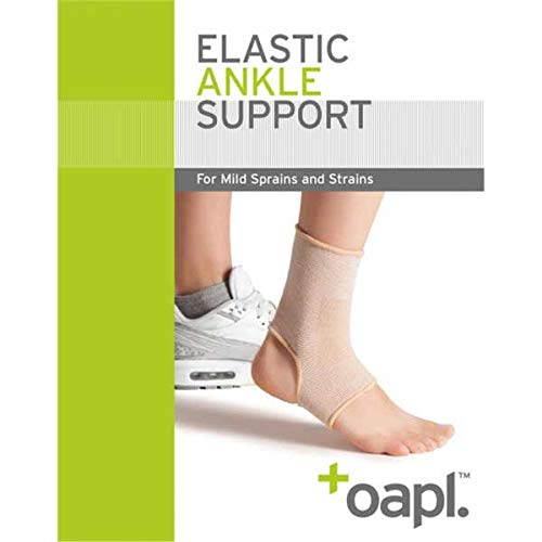 OAPL Elastic Ankle Support Arch Support for Preventing Sprains, Perfect for Women Men Sport, Running, Basketball, Football Open Heel, Light, Elastic & Breathable (Large 9″ – 10″)