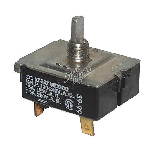 Hot Tub Classic Parts Cal Spa Topside Control Panel Normal Rotary Switch CALELE09903140 ()