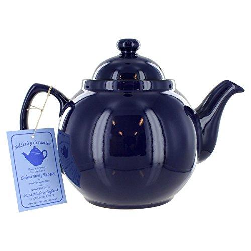 Cobalt Betty Teapot - 6 Cup