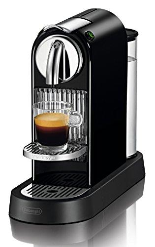 DeLonghi Nespresso Citiz EN166B - Cafetera monodosis (19 bares, rejilla...