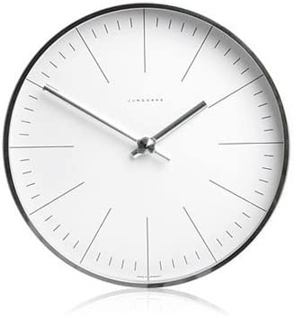Max Bill Modern Wall Clock