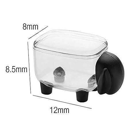 Deer TIANSE Premium Quality Clear Plastic Apothecary Jar