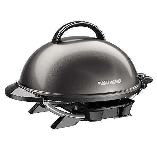 OKSLO 15+ serving indoor/outdoor electric grill, gun metal, gfo240gm