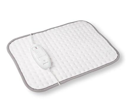Inventum HNK18 Calentador de cama eléctrico 100W Vellón Gris, Color blanco - Manta eléctrica (