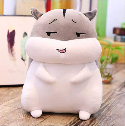XXCKA Despise Hamster Doll Doll Doll Plush Toy Cute Pillow Birthday Gift Gift Bag 80Cm